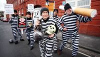 South West ASH demonstrates outside the HQ of Imperial Tobacco PLC, No Smoking Day 2010, © South West ASH/ Mark Simmons