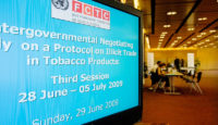 meeting FCTC sign on video screen