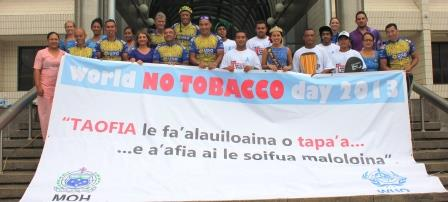 The Samoa Cancer Society, World No Tobacco Day 2013