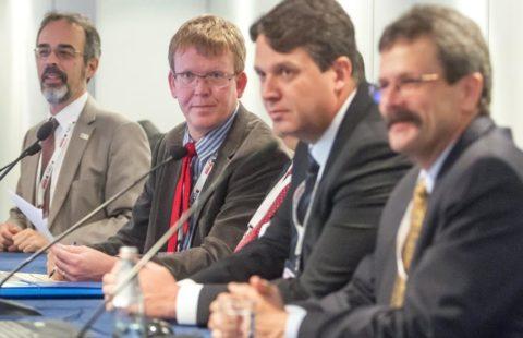 Speakers at FCA's seminar on Article 6 at COP6, 2014.