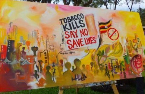 painting by Ugandan Artist Rolands (c) TTC Mobile