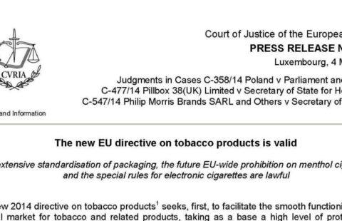 European Court of Justice decision