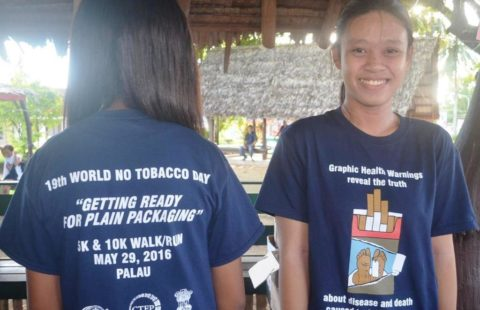 T-shirts in Palau for WNTD