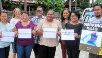 Celebrating World No Tobacco Day in Palau