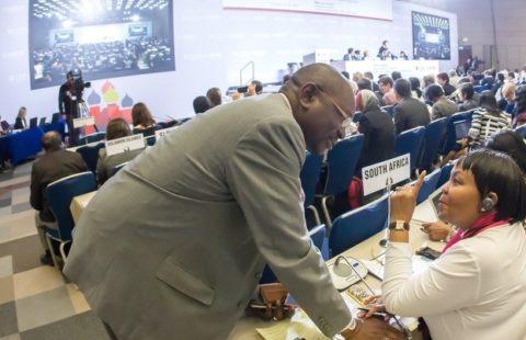 Delegates at FCTC COP6