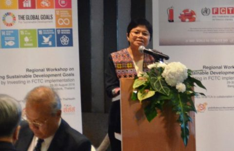 SEATCA Executive Director, Ms. Bungon Ritthiphakdee.