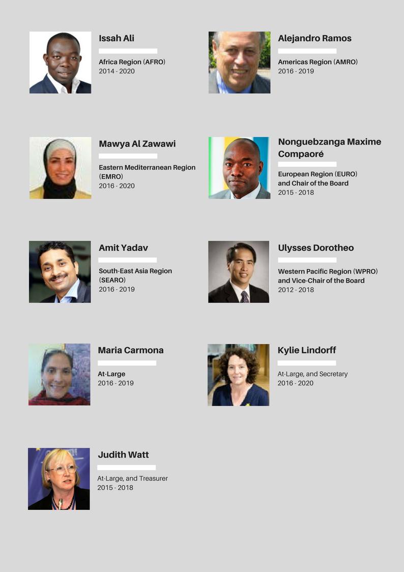FCA Board Members