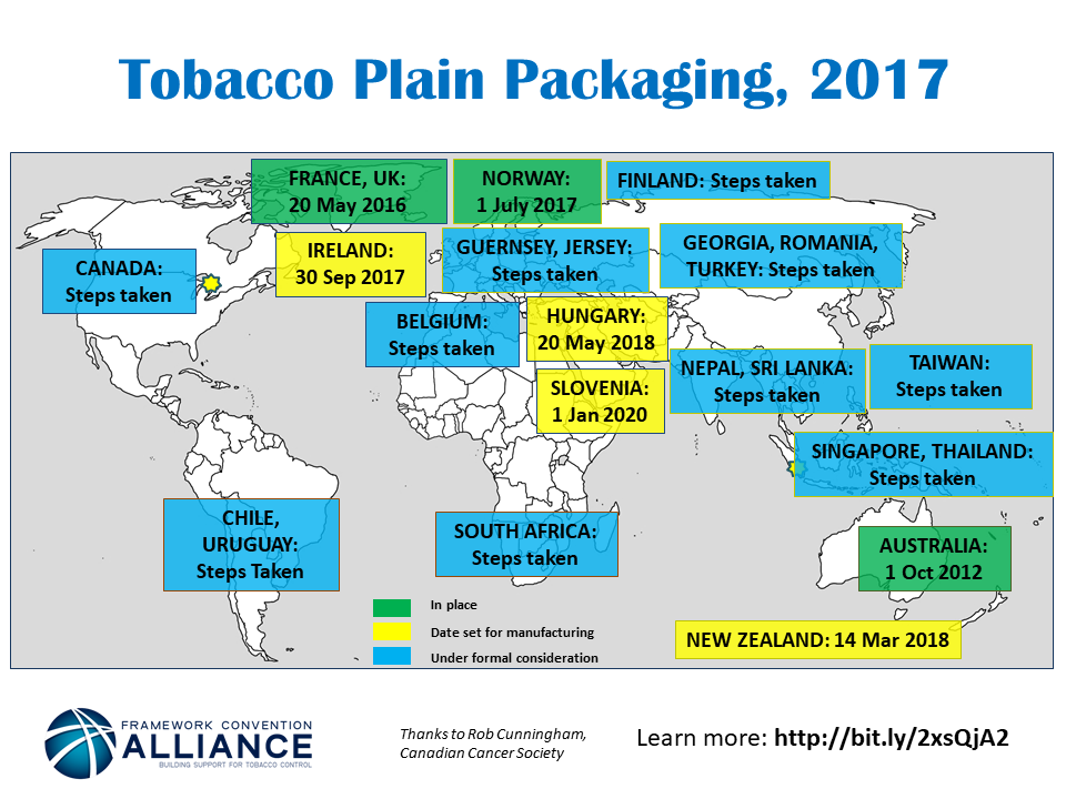 Plain Packs Map 2017