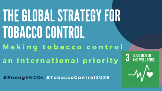 Making tobacco control an international priority