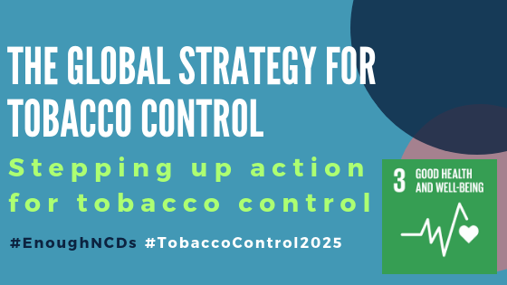 Blog: Stepping up action for tobacco control