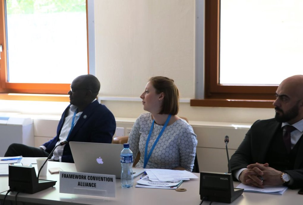 WHA: FCA at a meeting with Convention Secretariat