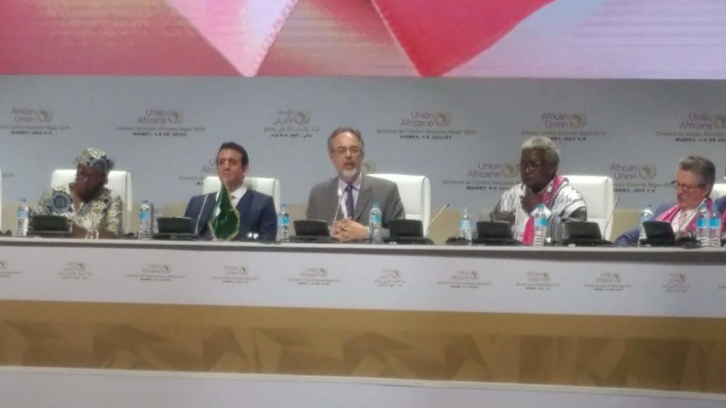 FCA at AU summit 5